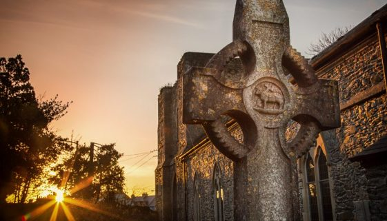 1711 At the setting of the sun. St. Davids Naas (1 of 1)