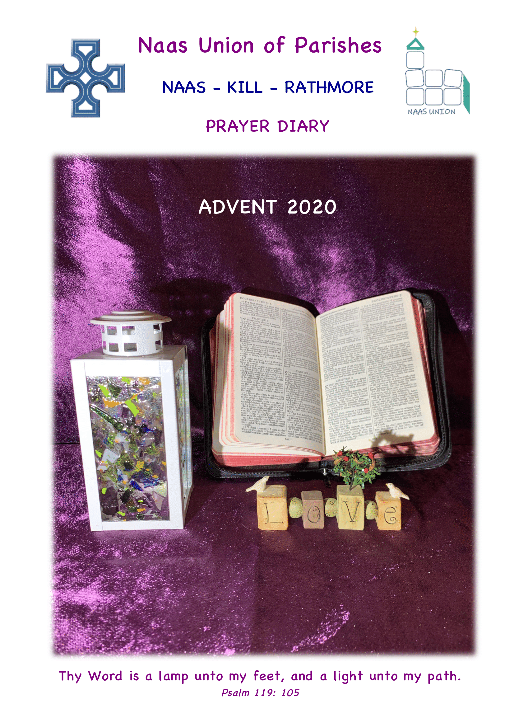 Look out for your Advent Prayer Diary from Team Union Focus